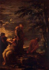 Démocrite et Protagoras, par Salvator Rosa