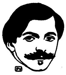 Pierre Louÿs, par Vallotton