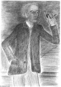 Portrait de Louis-René des Forêts, par Balthus